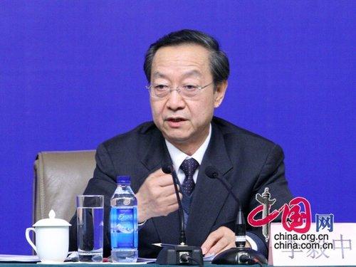 李毅中:政府创造良好环境 中小企业应找准定位