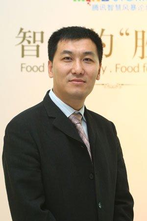 图文:腾讯公司副总裁孙忠怀