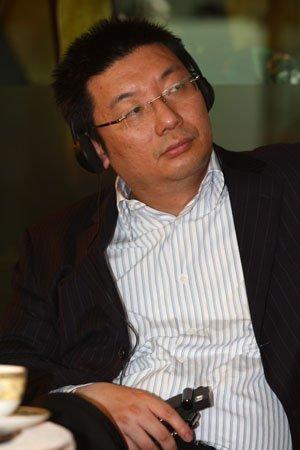 图文:分众CEO江南春