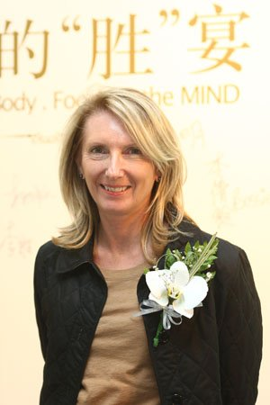 图文:强生公司全球品牌副总裁Dawn Jacobs