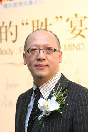 图文:丝宝集团CEO吴勇男