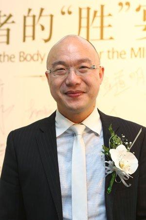 图文:丝宝集团市场服务部总经理陈勇