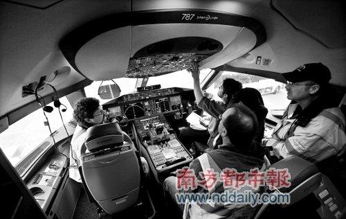 波音787亲密接触营销商外包复合材料致交货延迟