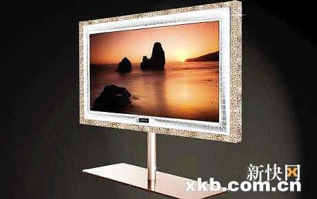 全球最贵电视机价格逾千万元