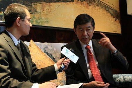 专访吴建民:世博会将推动中国城市化进程