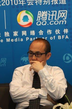 图文:SOHO中国董事长潘石屹接受专访