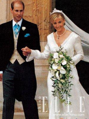 英国王室新娘索菲:酷似戴安娜-现代灰姑娘 盘点人人艳羡的王室新娘