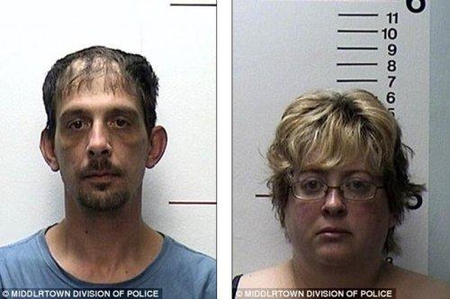 美国夫妇将12岁女儿囚禁在地下室近一个月(图)
