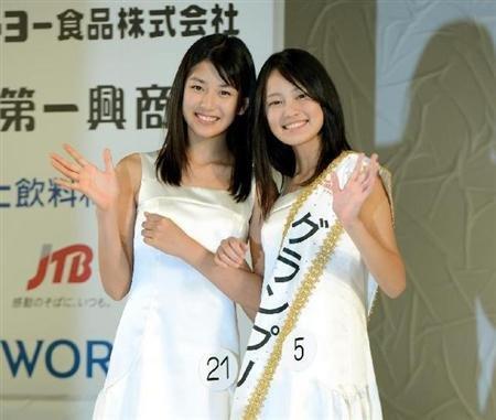日本选出两名国民美少女