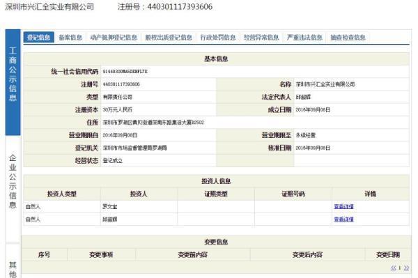 """""""蓝瘦香菇""""被抢注:深圳蓝瘦香菇实业注册成立"""
