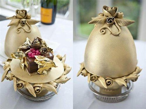 世界最贵甜点售价2万英镑 用2克拉钻石装饰(图)