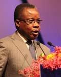 刚果共和国总统府经济特区事务部部长Alian AKouala Atipault