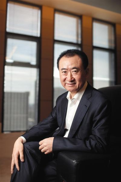"""亚洲首富王健林:""""在中国远离政府太假了"""""""