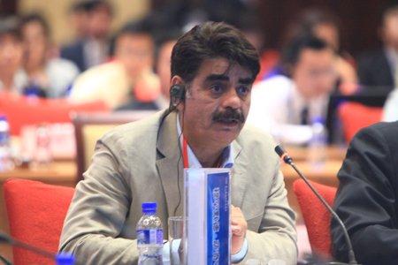 图文:印度中国经济文化促进会秘书长穆罕默德