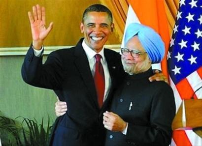 奥巴马称美国正重新领导亚洲 支持印度入常
