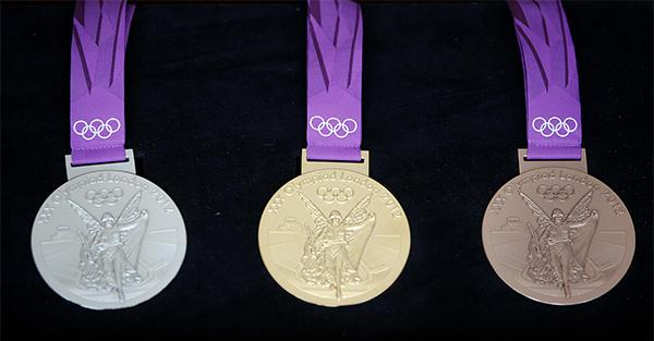 里约奥运金牌不值钱?含金量仅1.2% 价格不到