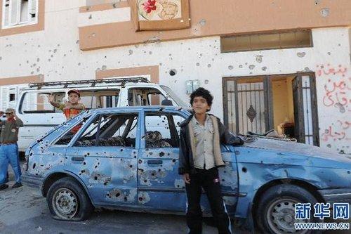 本网记者:利比亚战火洗劫中的儿童令我难以释