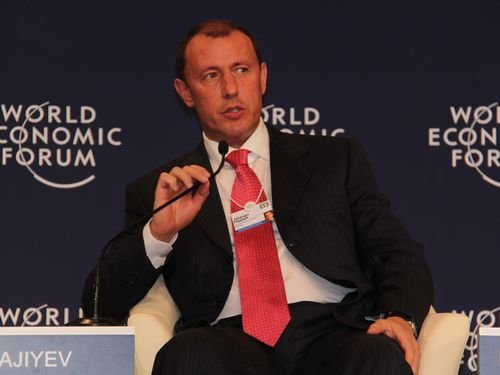 图文:阿塞拜疆国际银行董事长Hajiyev