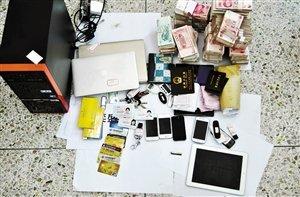 图为广东警方6月2日侦破潮州一香港