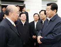贾庆林参观视察双汇集团