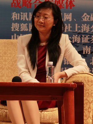 图文:上海睿信投资管理有限公司总经理王丹枫