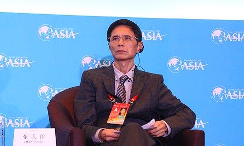 图文:全球化合作论坛副秘书长张其佐