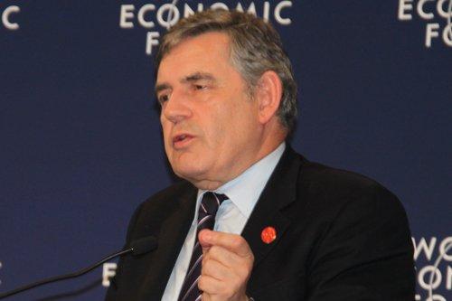 图文:英国国会议员戈登-布朗