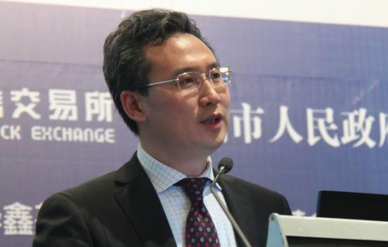 图文:深圳证券交易所总经理助理周健男