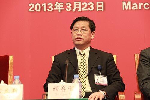 图文:国土资源部副部长胡存智