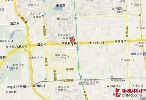 iphone 4地图定位