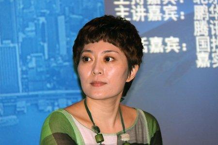 图文:腾讯广告华北区总经理栾娜