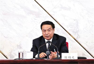 全国政协委员、中央农村工作领导小组副组长陈锡文。