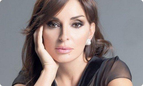 阿塞拜疆总统夫人气质完美