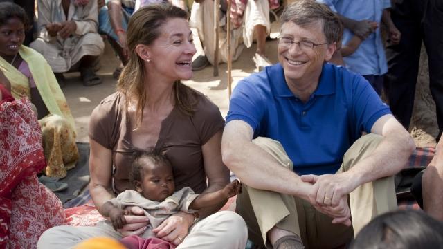 比尔盖茨与股神巴菲特的慈善故事和367亿美元账单图片