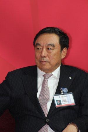 图文:招商银行行长马蔚华