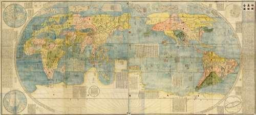 《坤舆万国全图》图片