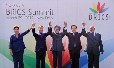 金砖国家领导人第四次会晤发表 德里宣言图片