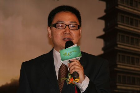 图文:百威英博亚太区副总裁王仁荣