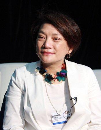 图文:渣打银行(中国)行政总裁曾璟璇