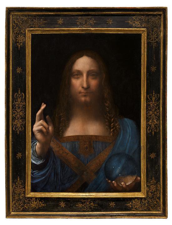 19分钟里 达芬奇画作就这样拍了30个亿