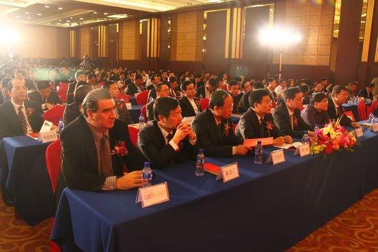 图文:阳光私募金牛奖现场会议来宾关注演讲