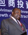 刚果共和国国土整冶及大型工程委员会部长Jean Jacques Bouya