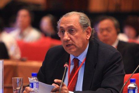 图文:墨西哥学院经济系教授罗梅洛