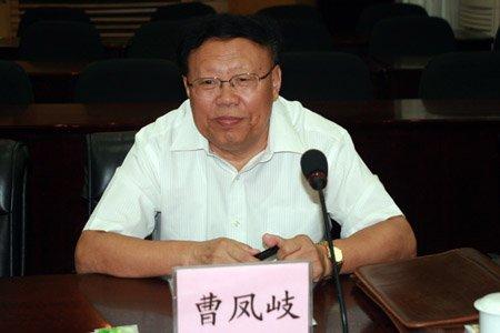 图文:曹凤岐在研讨会上发言