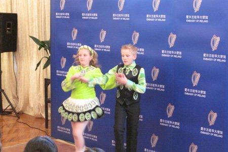 组图:爱尔兰使馆青年开放日活动