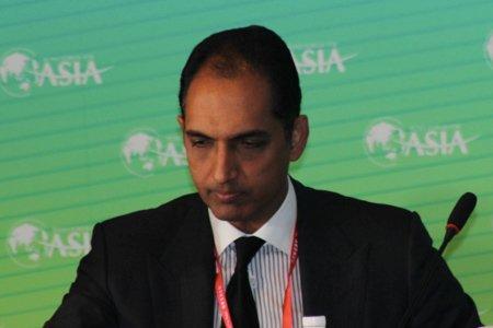 图文:印度GVK集团副董事长G V Sanjay REDDY