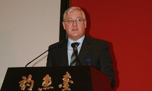 图文:荷兰皇家壳牌公司首席执行官傅赛