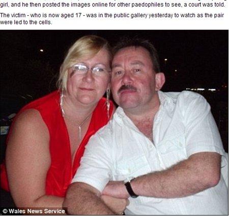 英国女子拍摄男友10岁女孩过程