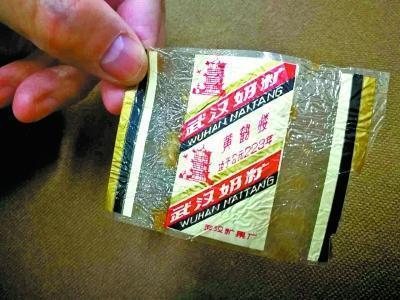 30年前黄鹤楼牌糖纸现身 武汉收藏界数量不多