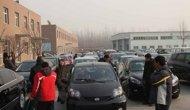 高清组图:北京年底又现购车潮